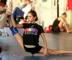 oversplit, rhytmic gymnastic, and irina tchachina image