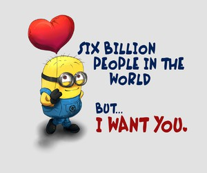 love, minions, and you image