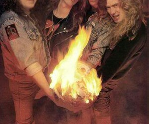 dave mustaine, megadeth, and jeff young image