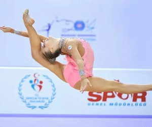 dance, gymnastics, and jump image