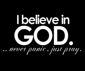 god, trust, and jesus image