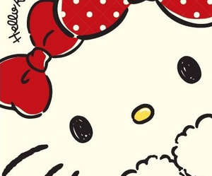 hello kitty, kawaii, and wallpaper image