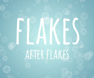 after, december, and snowflakes image
