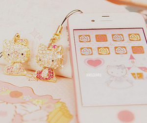 cute, hello kitty, and pink image