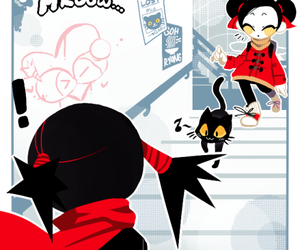 pucca, couple, and cute couple image