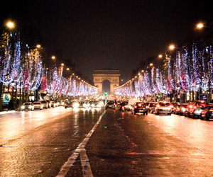 2009, champs elysees, and christmas image
