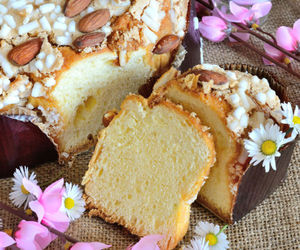 almond, bread, and easter image