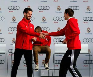 audi, real madrid, and isco image
