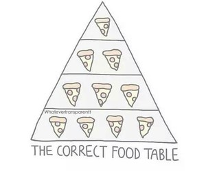 food, pizza, and table image