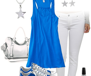 converse, outfit, and stars image