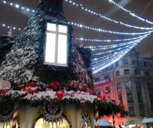 bucharest, christmas, and north image