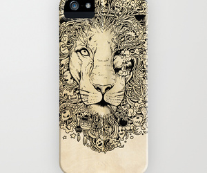 lion, gift ideas, and phone case image