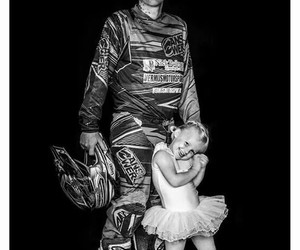 ballet, black & white, and motorcross image