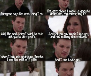 marry me, one tree hill, and brulian image