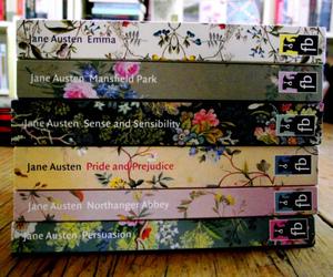 book, jane austen, and love image