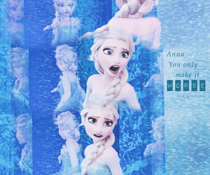 disney, edit, and frozen image