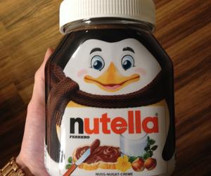 nutella, chocolate, and christmas image