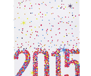 new year cards 2015 image