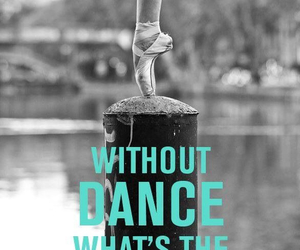 pointe, ballet, and dance image