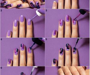 nail art, tırnak süsleme, and kareli tırnak süslemeleri image