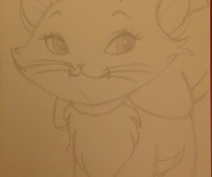 animation, aristocats, and cat image