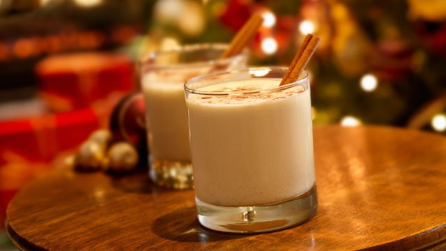 christmas, egg nog, and eggnog image