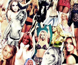 britney spears and Collage image