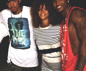 rihanna, trey songz, and j cole image