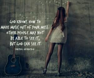 god, spiritual inspiration, and music image