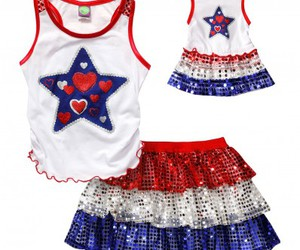 matching outfits, doll cloths, and 18 inch play dolls image