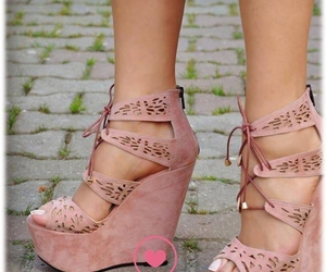 heels, sandals, and cute image