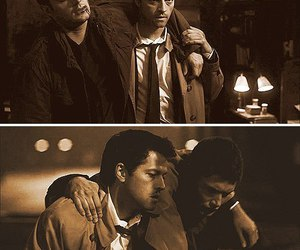 supernatural and castiel image