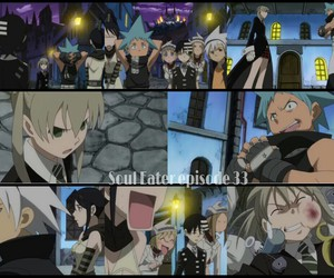 anime, anime screen, and soul eater image