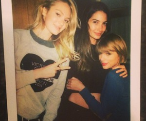 Taylor Swift, Lily Aldridge, and candice swanepoel image