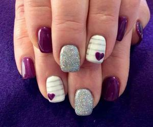 lovely, red wine, and nails image