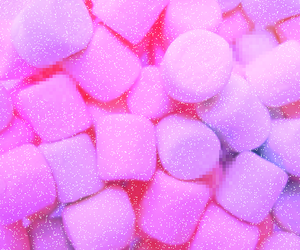 pink, marshmallow, and background image