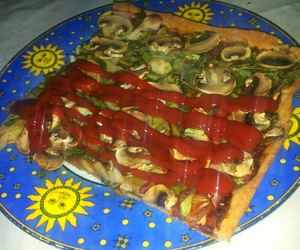 daddy, pizza, and food image