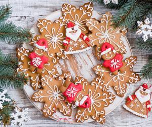 luxury, christamas, and Cookies image