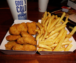 chips, nuggets, and mcdo image