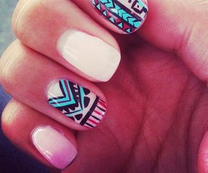 lovely, nails, and pastel image
