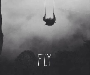 dark, feels, and fly image