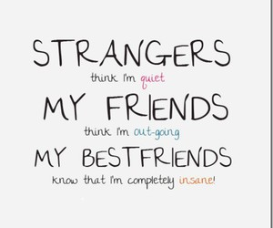 lol, quote, and friends image