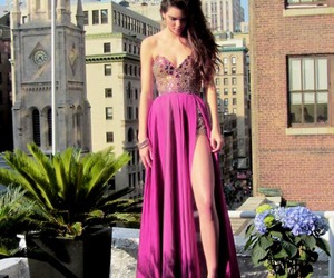 dress, pink, and kendall jenner image