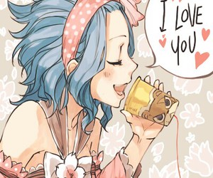 levy, anime couple, and fairy tail image