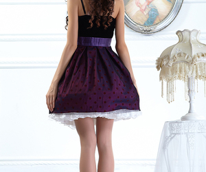 fashion, purple, and style image