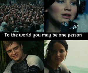 quotes, hunger games, and catching fire image