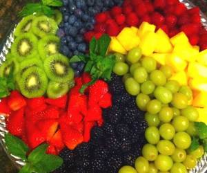 blackberry, grapes, and pineapple image