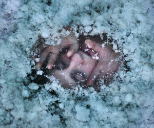 ice, cold, and grunge image