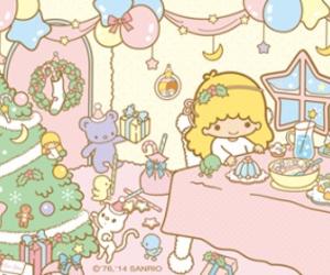 christmas, merry christmas, and sanrio image
