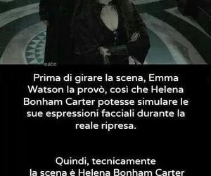 emma watson, harry potter, and helena bonham carter image
